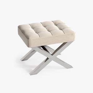 stool beekman 3d max