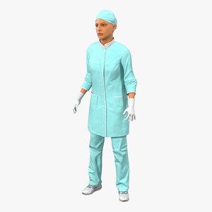 max female surgeon mediterranean rigged