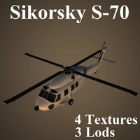 sikorsky helicopter 3d model