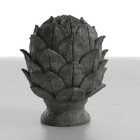 3d artichoce object model