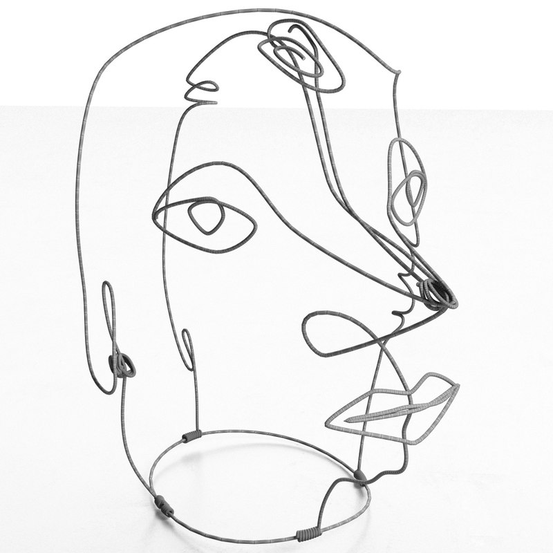 Alexander Calder Wire Sculpture 3d Max