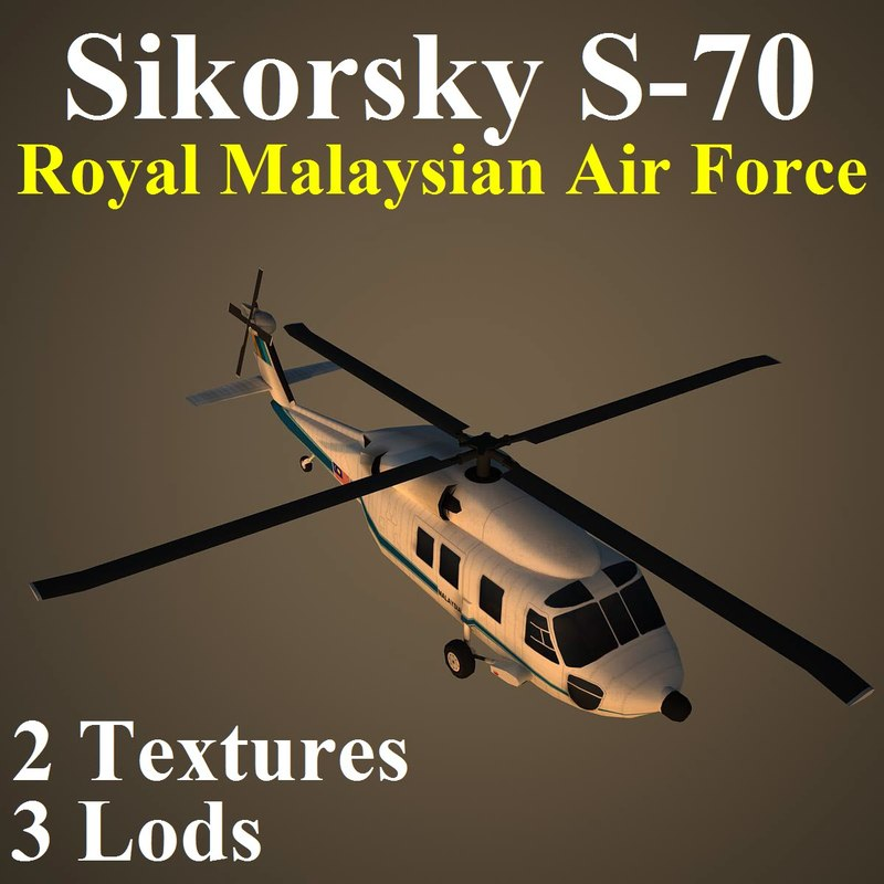 max sikorsky rmf helicopter