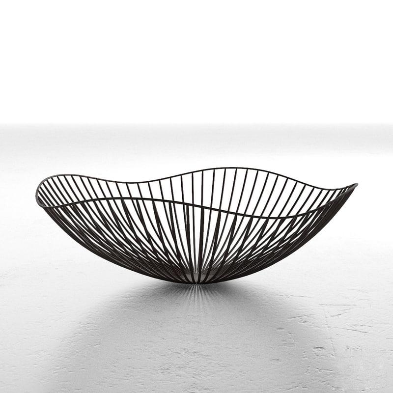 3d vase wire model