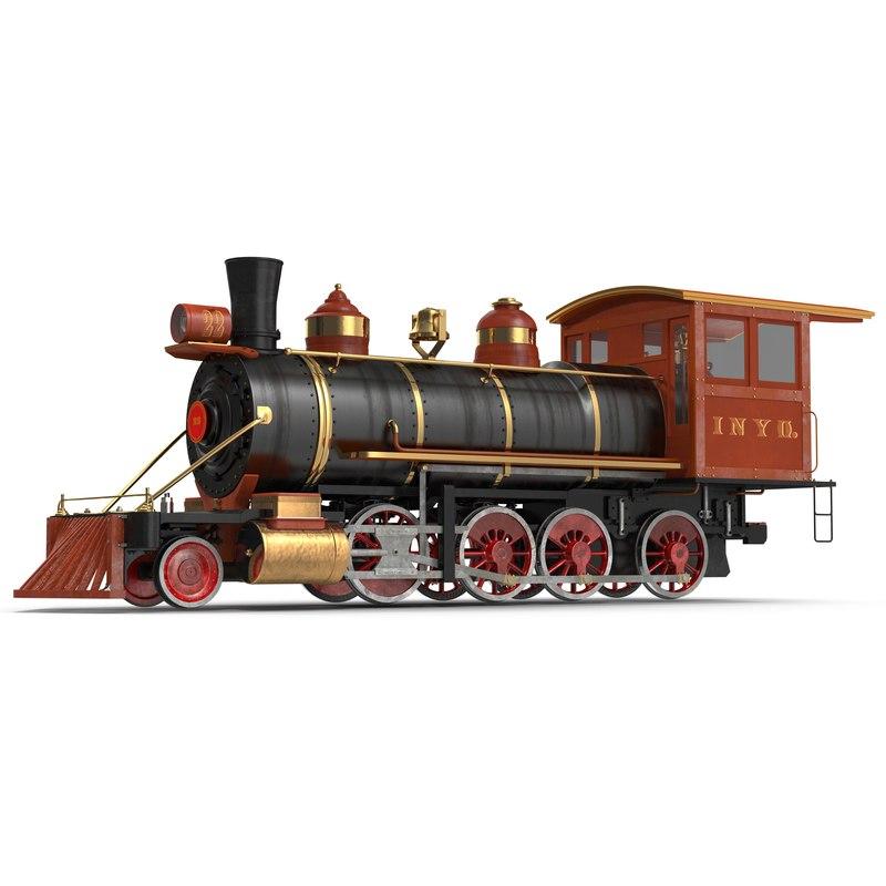 3dsmax steam train locomotive 2