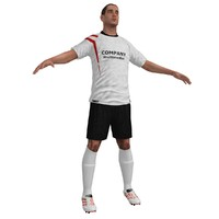 Soccer Player 2 LOD3