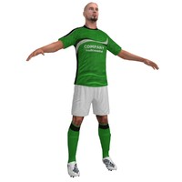 Soccer Player 3 LOD2