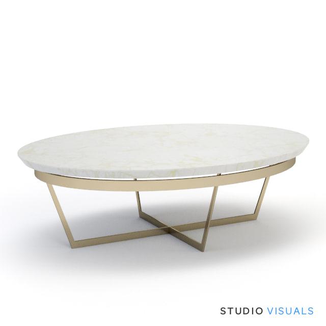 3ds max vito coffee table