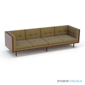 couch 01 3d model