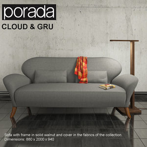 sofa porada cloud gru max