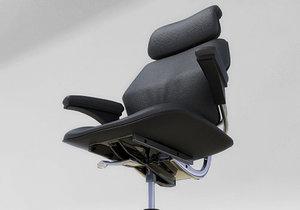 freedom task chair 3d model