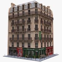 Paris Corner Tenement Hotel 03