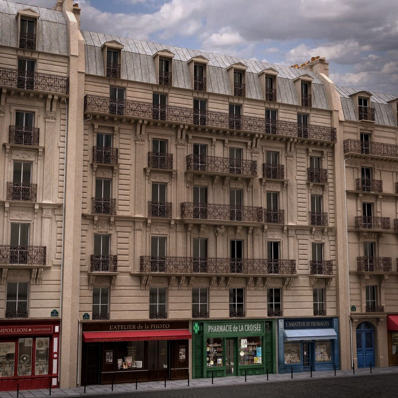 3d france tenement