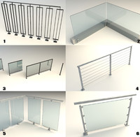 Steel Railing [Bundle]