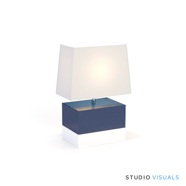 3d foley table lamp model