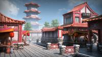 Oriental Architecture Assets