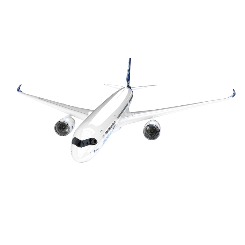 airbus a350 discount price 3d model