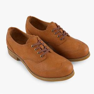 3d oxford shoes