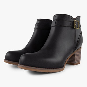 max leather boots heels