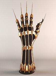 character hand 3d model