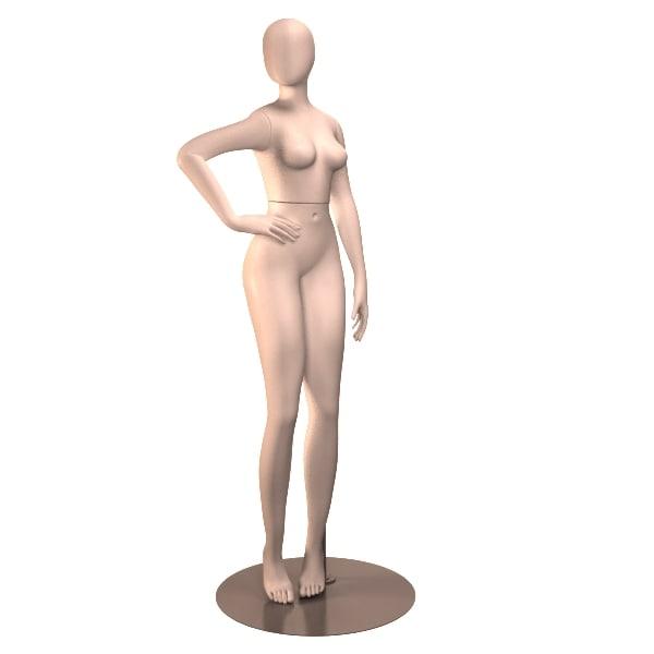 3d model female mannequin 02