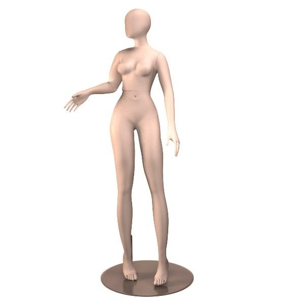 3d female mannequin 03