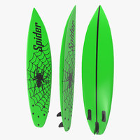 3d surfboard shortboard 4