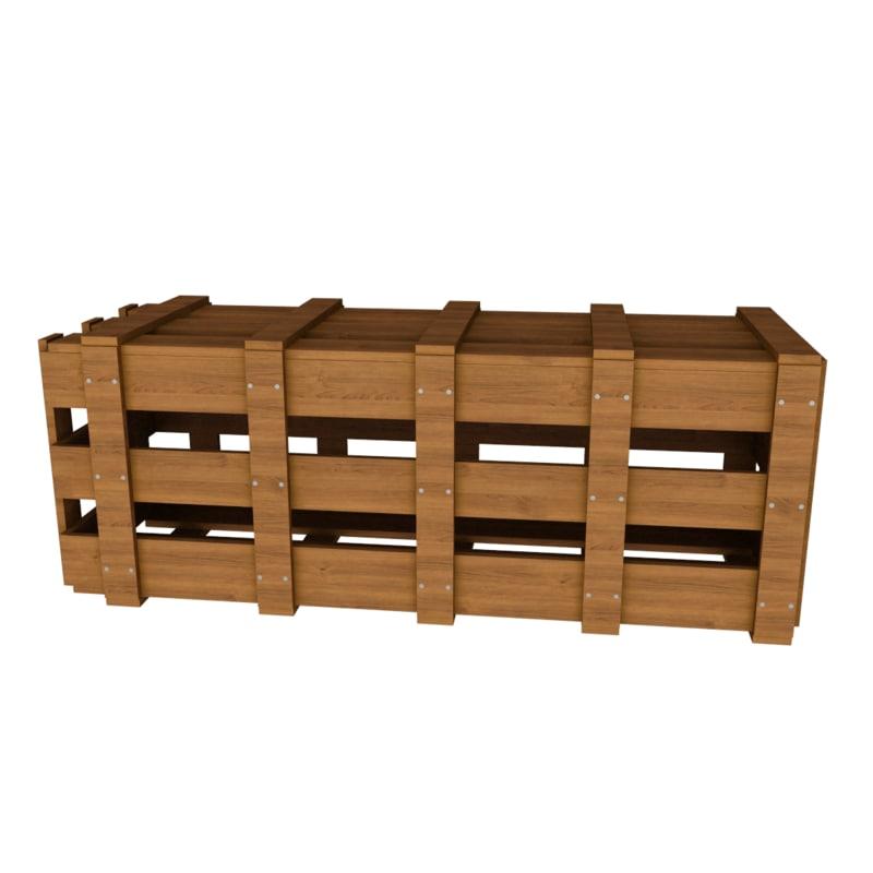 market wood 3d max