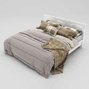 3d model bed 36
