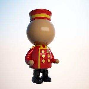 max bellboy character cartoon