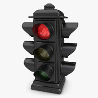 Traffic Light (Animated)