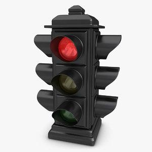 max traffic light animation