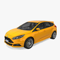 Ford Focus ST 2015 Without Interior