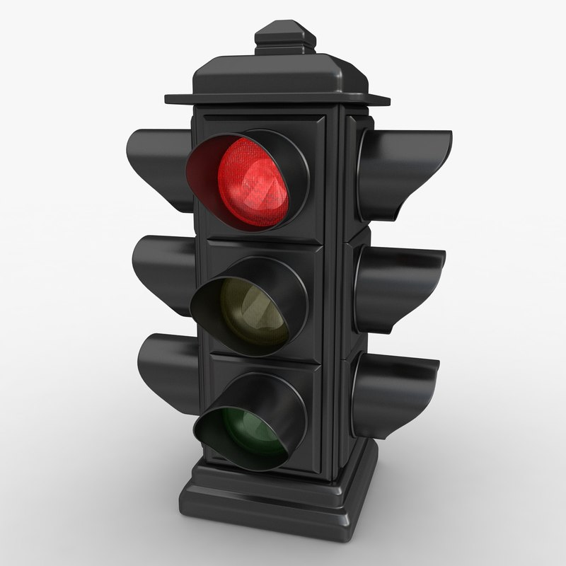 max traffic light animation
