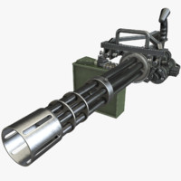 Game Ready Minigun