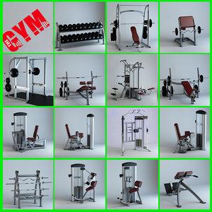 15 gym equipment 1 max