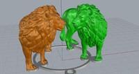 lion statue 3dm