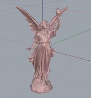 3d liberty statue