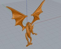 dragon 3d 3dm