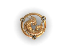 capricorn zodiac 3d 3dm