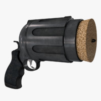 3d cork gun