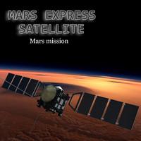 3d mars express model