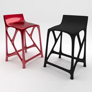 3ds max axiom stool