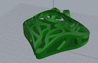 free heart pendant 3d model