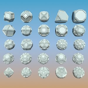 3dsmax geometric shape pack