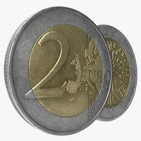 2 euro coins max