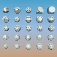 geometric shape pack 3d max