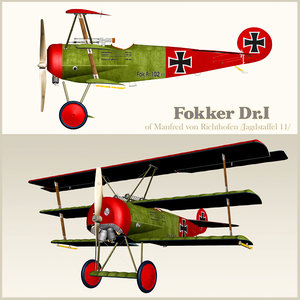 airplane fokker dr air max