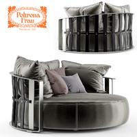 3d scarlett divano poltrona model