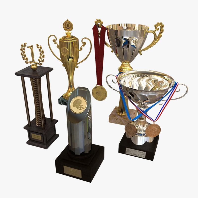 3d model sports - cup