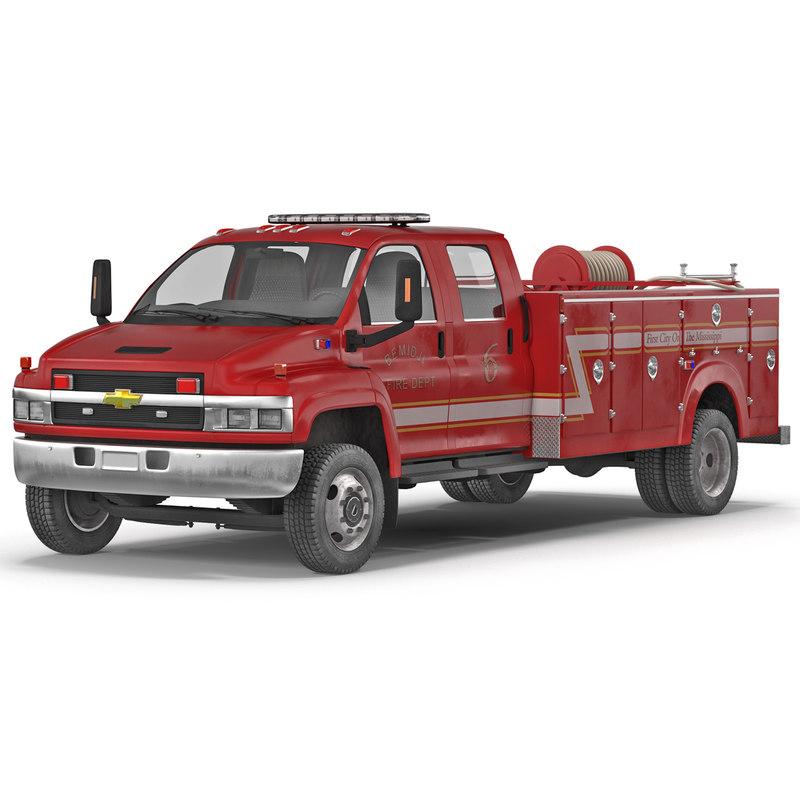 chevrolet truck 3d model